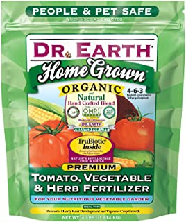 product image for Dr. Earth Home Grown Tomato, Vegetable & Herb Fertilizer, 4lb