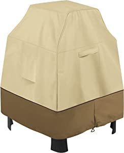 Classic Accessories Veranda Water-Resistant 32.5 Inch Outdoor Fireplace Cover