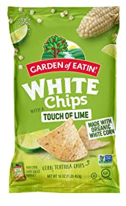 Garden of Eatin' Touch of Lime White Tortilla Chips, 12 Count