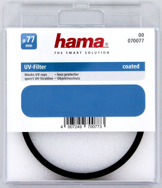 color neutro Hama 070077 Filtro ultravioleta 77 mm