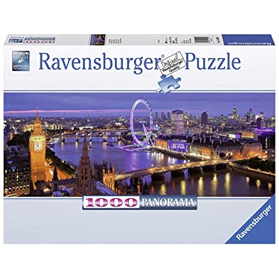 Ravensburger London at Night Panorama 1000 Piece Jigsaw Puzzle for Adults – Every Piece is Unique, Softclick Technology Means Pieces Fit Together Perfectly: Varios: Toys & Games