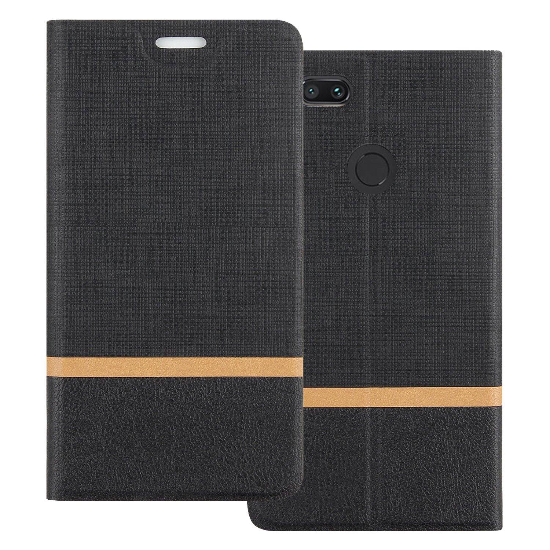 Cover Funda Para Xiaomi Mi A1,Elegante Billetera Cover PU ...