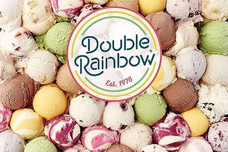 Super Premium Ice Cream Assorted 6-Pack - Double Rainbow (6) Pints - Its A Goody (Peanut Butter Fudge), Mint Chocolate Chip & Dulce De Leche Flavors ...