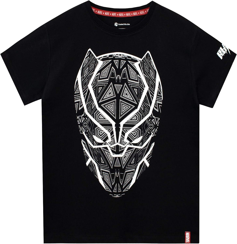 Marvel Black Panther Camiseta de Manga Corta para niños: Amazon.es: Ropa y accesorios