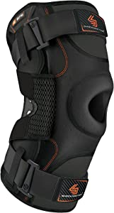 Hinged Knee Brace: Shock Doctor Maximum Support Compression Knee Brace - for ACL/PCL Injuries, Patella Support, Sprains, Hypertension and More for Men and Women