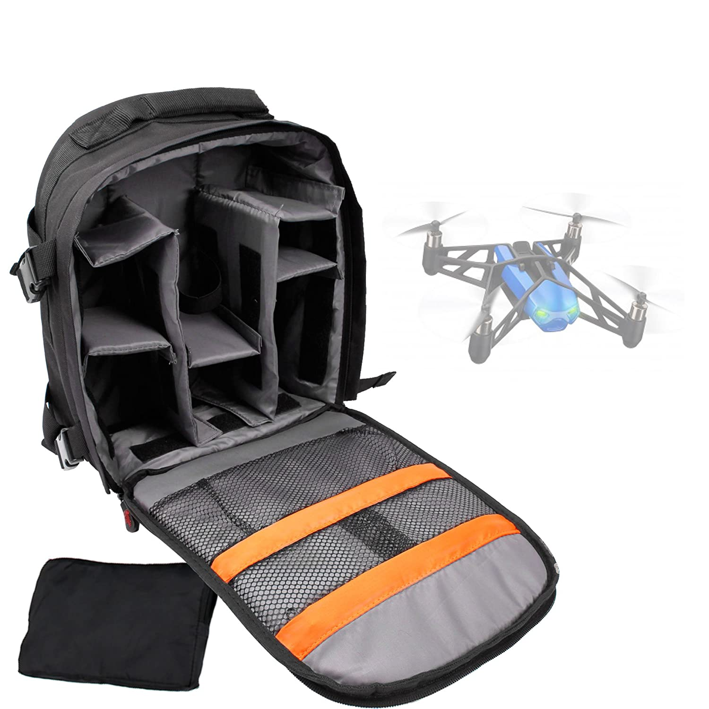 DURAGADGET Mochila para Drone Parrot Bebop + Funda Impermeable ...