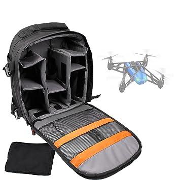 DURAGADGET Mochila para Drone Parrot Bebop + Funda Impermeable: Amazon.es: Electrónica