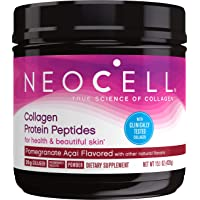 NeoCell Collagen Protein Peptides, Pomegranate Acai Flavored 15.1 Ounce Tub (Package May Vary)
