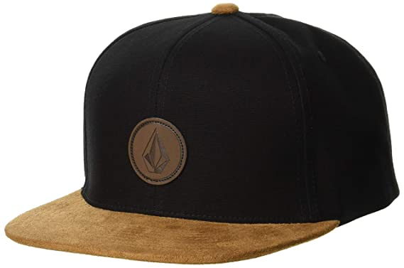 Volcom Quarter Fabric Gorra, Hombre, Blackout, O/S: Amazon.es ...