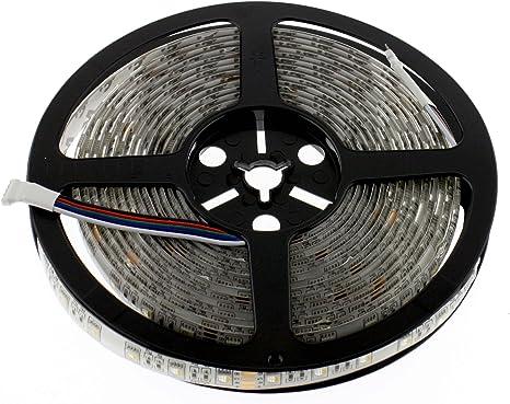 60 LEDs//m 300 Stk. LED Streifen kaltweiss 12V 500cm IP65 6000K