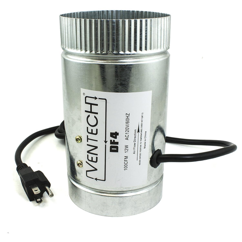 VenTech VT DF-4 DF4 Duct Fan 65 CFM 4 4