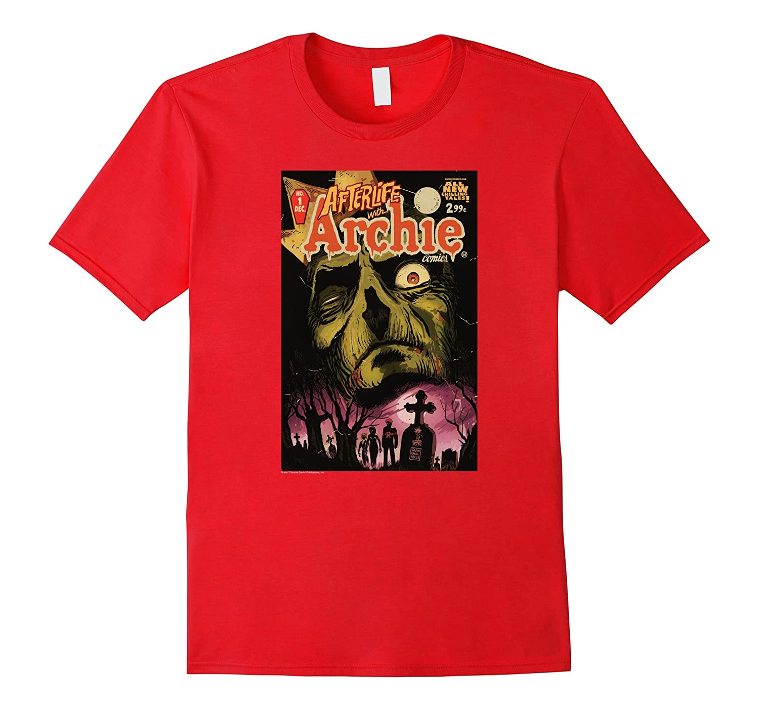 Archie Afterlife with Archie Jughead Grave-FL