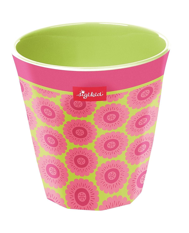 sigikid, Mädchen, Melamin-Trinkbecher, Florentine, Pink/Grün, 24828 Mädchen Pink/Grün