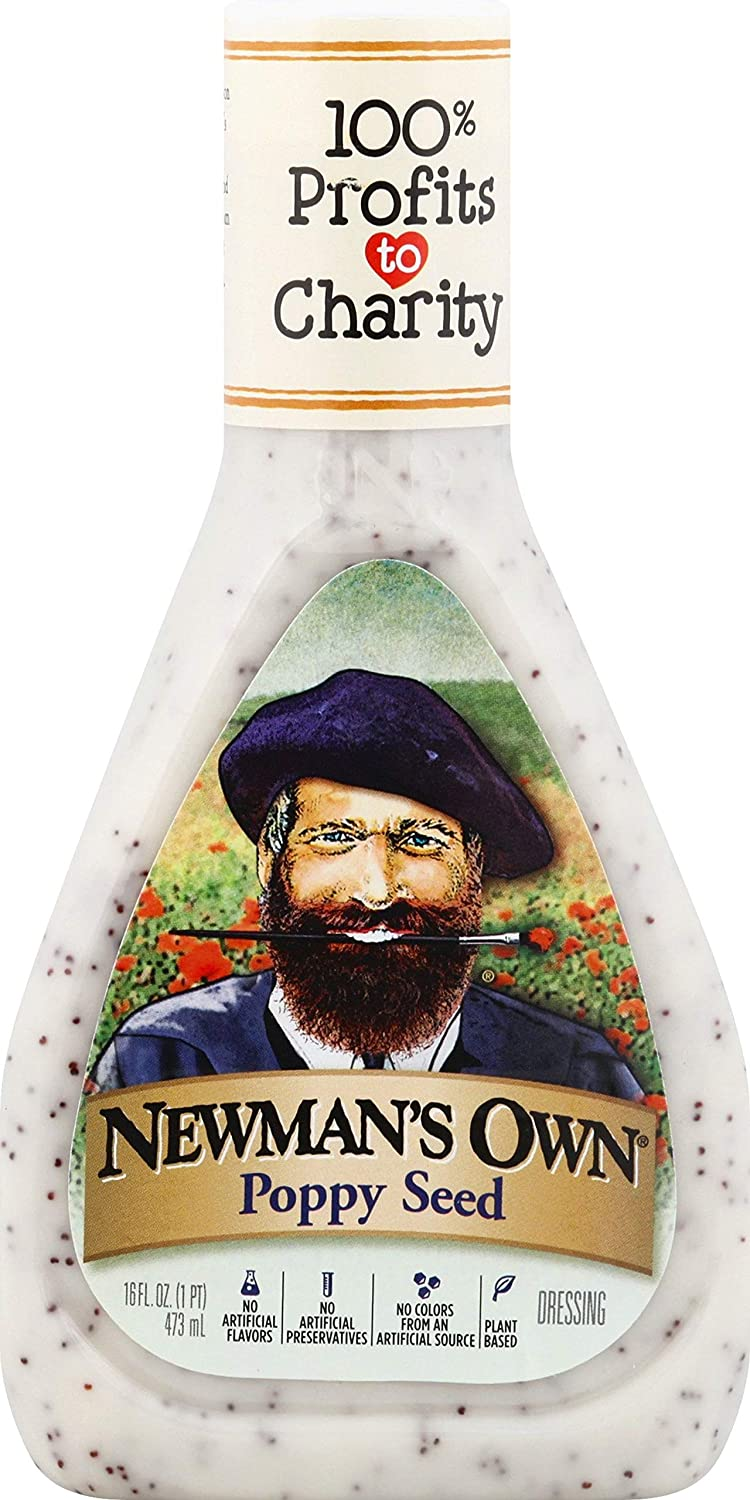 Newman's Own Poppy Seed Salad Dressing, 16-oz. (Pack of 6)