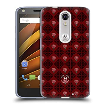 Official Anne Stokes Logo Pattern Gothic Soft Gel Case for Droid Turbo 2 / X Force: Amazon.es: Electrónica