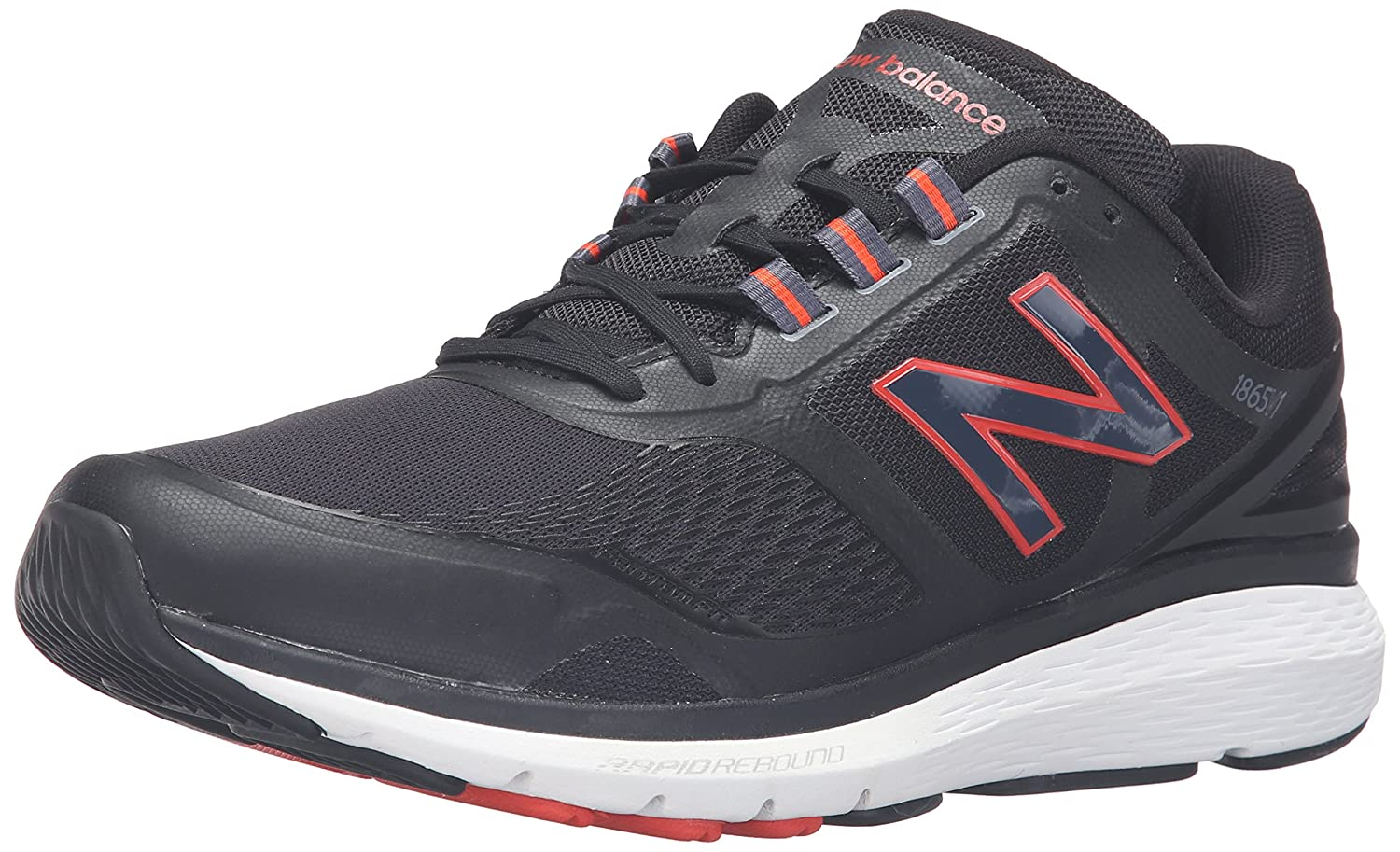 New Balance MW1865V1 Walking Shoe-M, Baskets pour Homme Noir/Noir 41 EU
