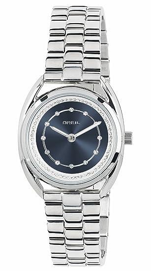 Breil Reloj Analogico para Mujer de Cuarzo con Correa en Acero Inoxidable TW1651