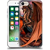 Official Ruth Thompson Coppervein Dragons Soft Gel Case for Apple iPhone 7 / iPhone 8