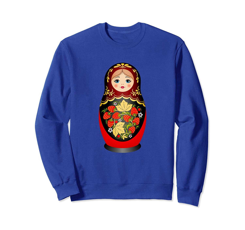 Beautiful Matryoshka Russian Nesting Doll Sweatshirt-ln