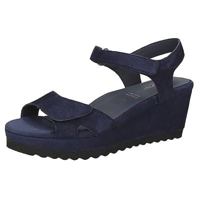 SIOUX »Folinera« Sandalette, schwarz, schwarz