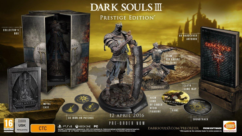 Dark Souls III Prestige Edition Exclusive to Amazon.co.uk (PS4) by ...