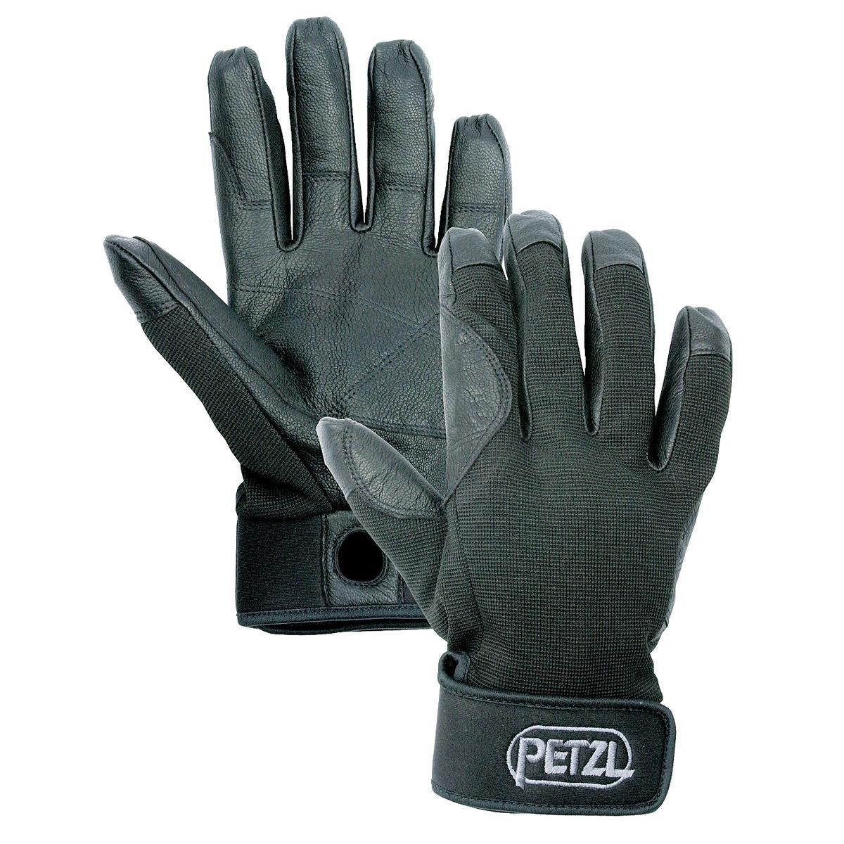 Petzl K52 CORDEX Lightweight Glove, Black, Small