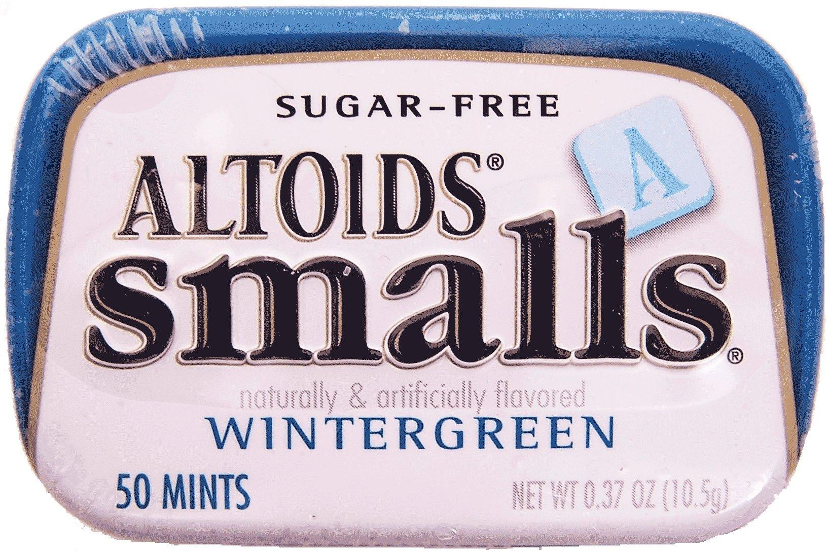 Altoids Mints - Smalls Wintergreen Sugar Free .37 Oz Tins - 9 Pack