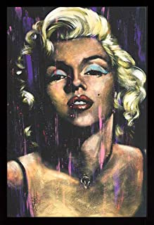 product image for Frame USA Marilyn Monroe - Candle in The Wind Poster (Black Affordable Medium Frame)(24x36)