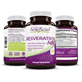 RESVERATROL1450-90day Supply, 1450mg per Serving of Potent Antioxidants & Trans-Resveratrol, Promotes Anti-Aging, Cardiovascu