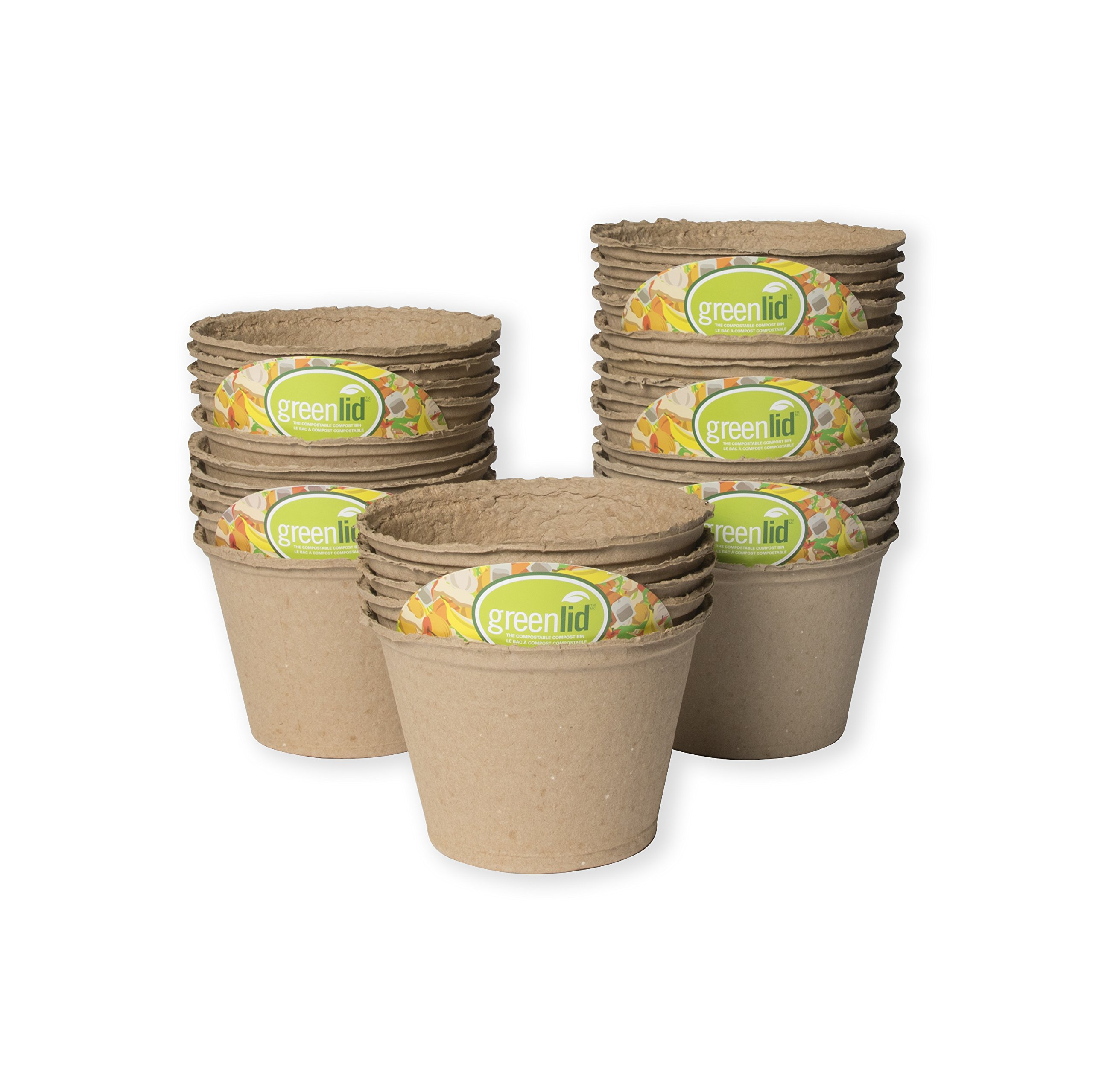 Greenlid Compostable Compost Bin - Refill Kit (30 Pack)