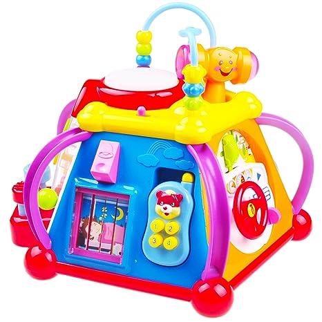 a66580510532bf Think Gizmos Giocattoli di attività per i più Piccoli - Giocattoli  educativi interattivi per Bambini Piccoli