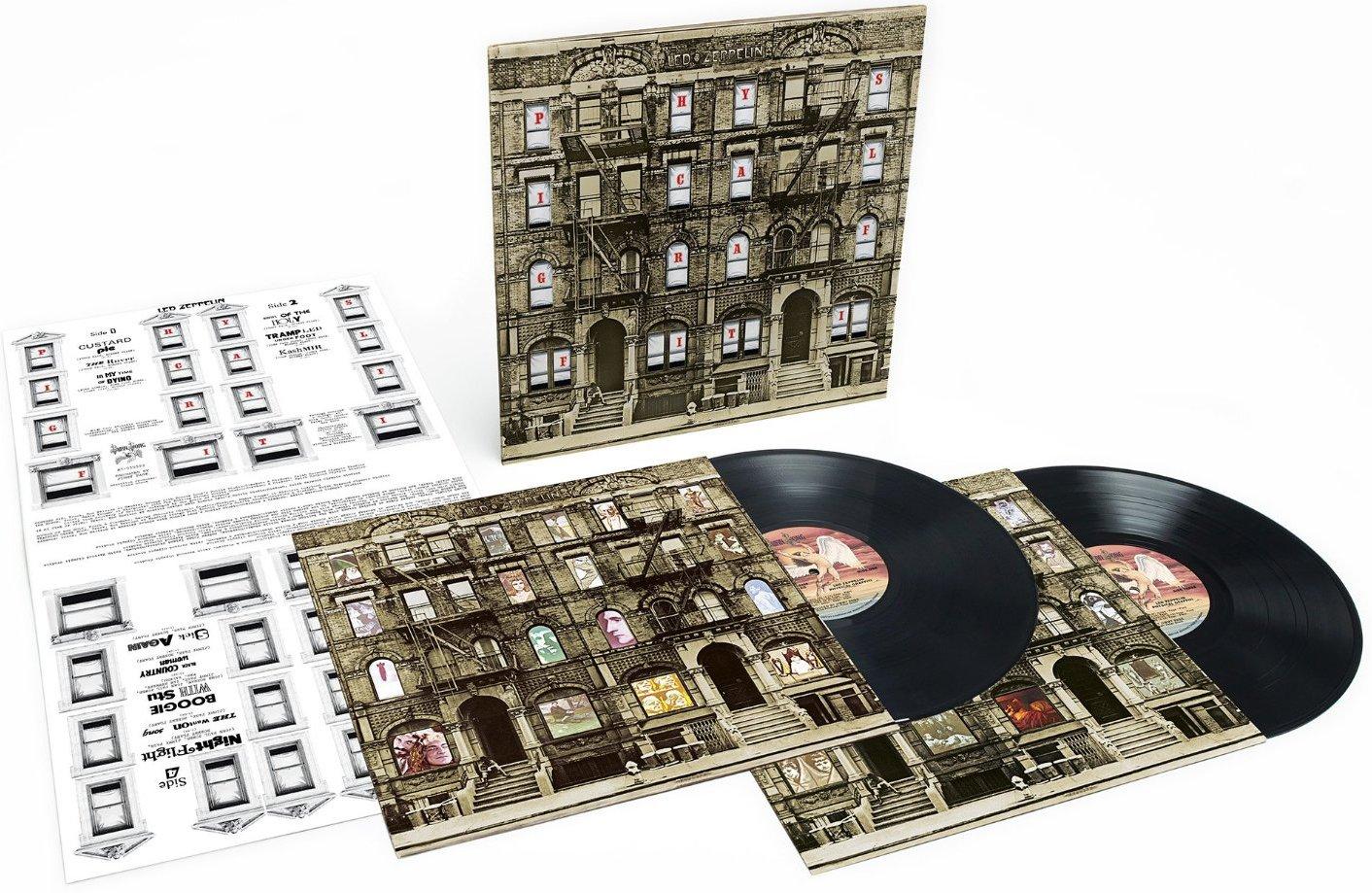 Vinilo : Led Zeppelin - Physical Graffiti (180 Gram Vinyl, Remastered, 2 Disc)