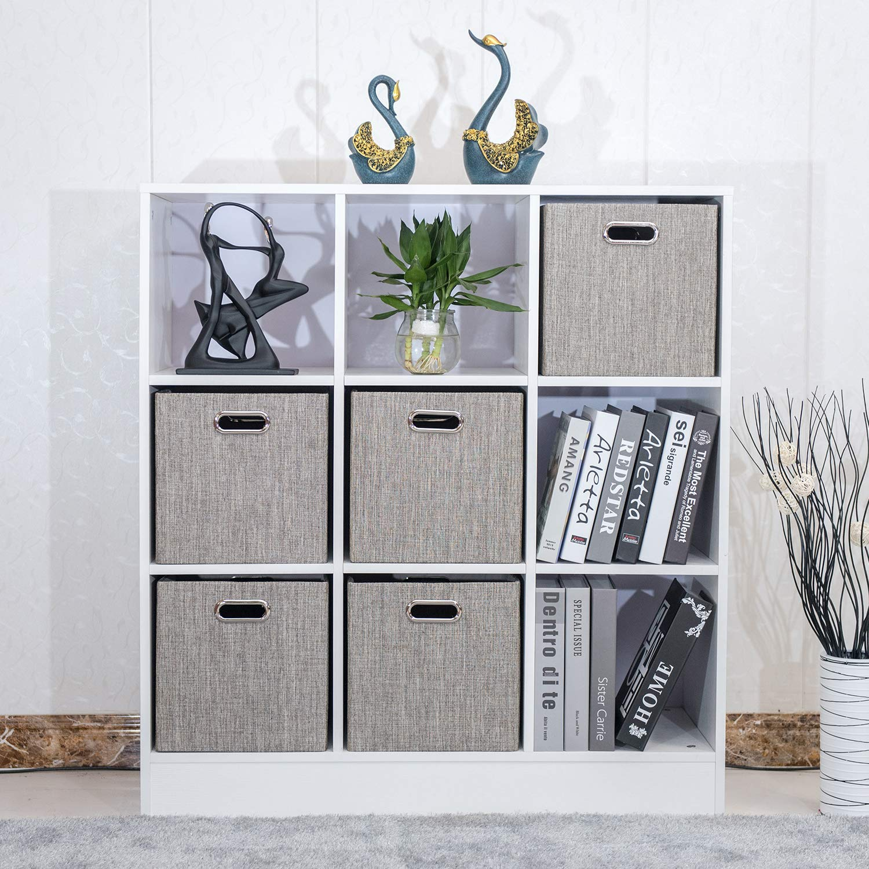 Amazon.com: Cesta de almacenamiento, organizador de armario ...