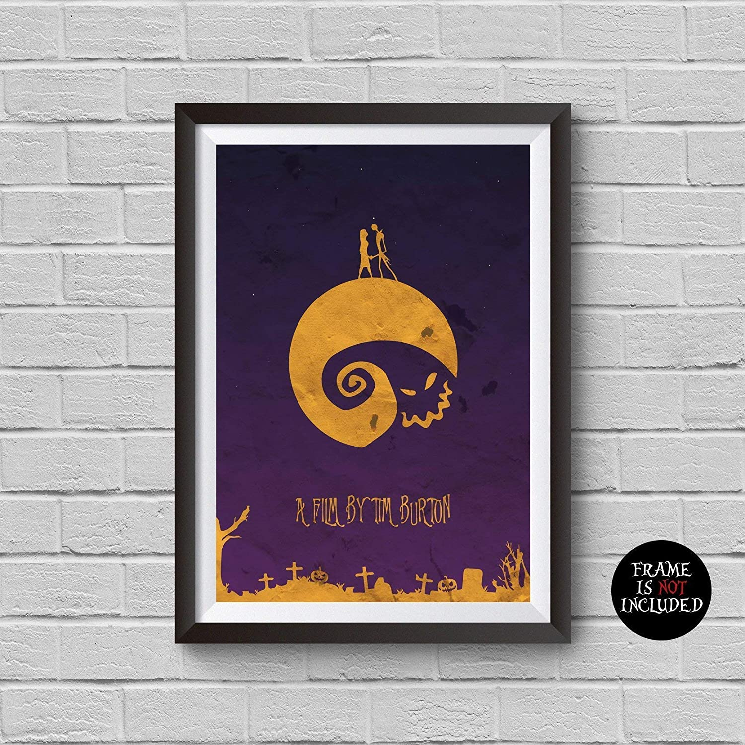 A2 The Nightmare Before Christmas Vintage Movie Poster A1 A4 A3