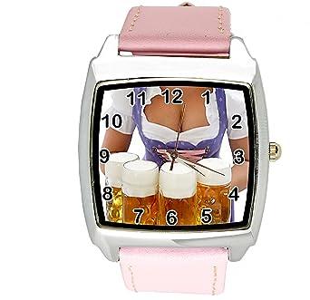 Amazon.com: TAPORT Oktoberfest - Reloj cuadrado de cuarzo ...