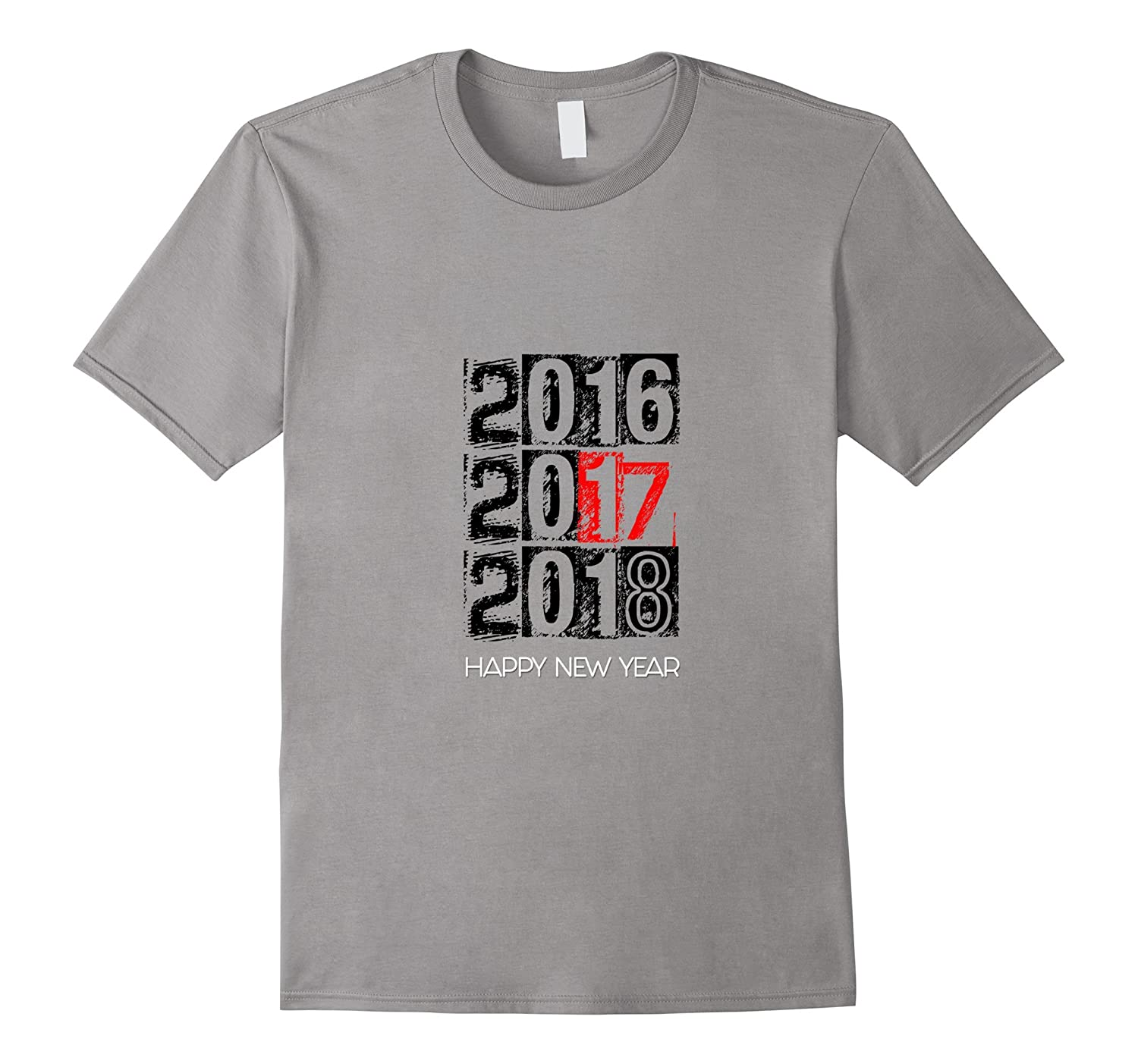 2017 HAPPY NEW YEAR T-SHIRT-CL