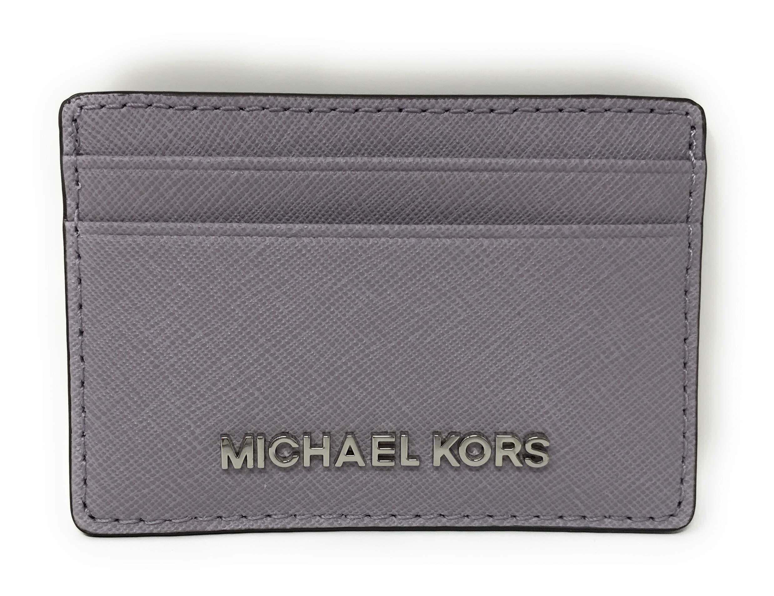 Michael Kors Jet Set Travel Credit Card Holder Case (Lilac)