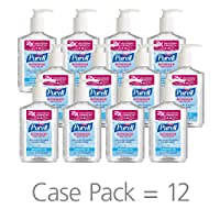 Deals on 12-Pack PURELL Hand Sanitizer Refreshing Gel, 8 oz. Pump Bottle
