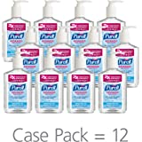 PURELL Advanced Hand Sanitizer Refreshing Gel, 8 oz. Pump Bottle (Pack of 12) - 9652-12-CMR