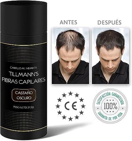 Tillmanns® Fibras Capilares Castaño Oscuro 27,5 gramos - Caida ...