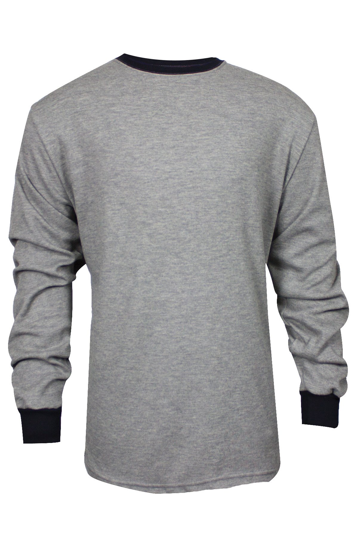 National Safety Apparel C541NGELS2X TECGEN Select Long Sleeve FR T-Shirt, XX-Large, Grey