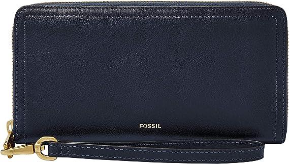 Fossil Womens Logan RFID Zip Wallet