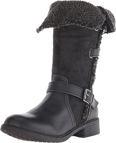 Report Women's Heddy Black Boot 7.5 M