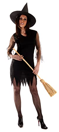 Halloween adults witch costume  sc 1 st  Amazon UK & Halloween adults witch costume: Amazon.co.uk: Clothing