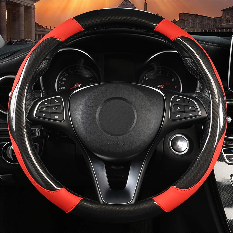 SFONIA Coprivolante per Auto Protezione Custodia Volante Cover in Pelle Artificiale Universale 37-38cm 15 Antiscivolo Traspirante Durevole