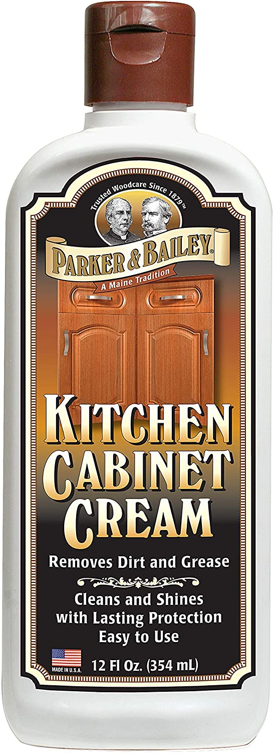 Parker & Bailey Kitchen Cabinet Cream 12 oz. bottle, 12 Ounce, White