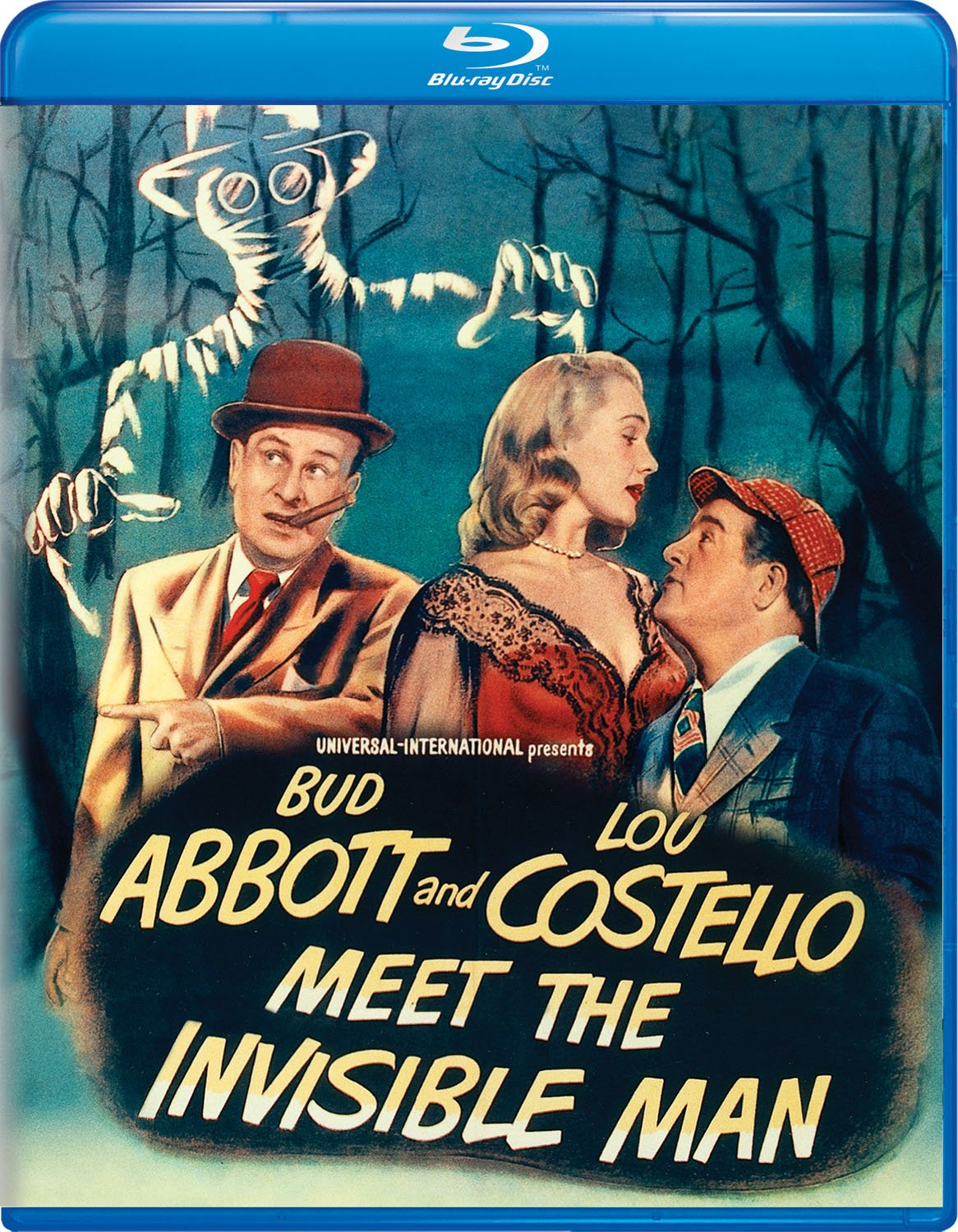Blu-ray : Abbott And Costello: Meet The Invisible Man (Blu-ray)