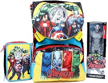 Hasbro Mochila School Pack C/Ultron aparador Team Avenger Marvel