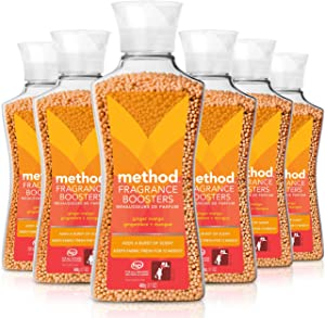 Method Naturally Derived Fragrance Booster, Ginger Mango, 6 Count