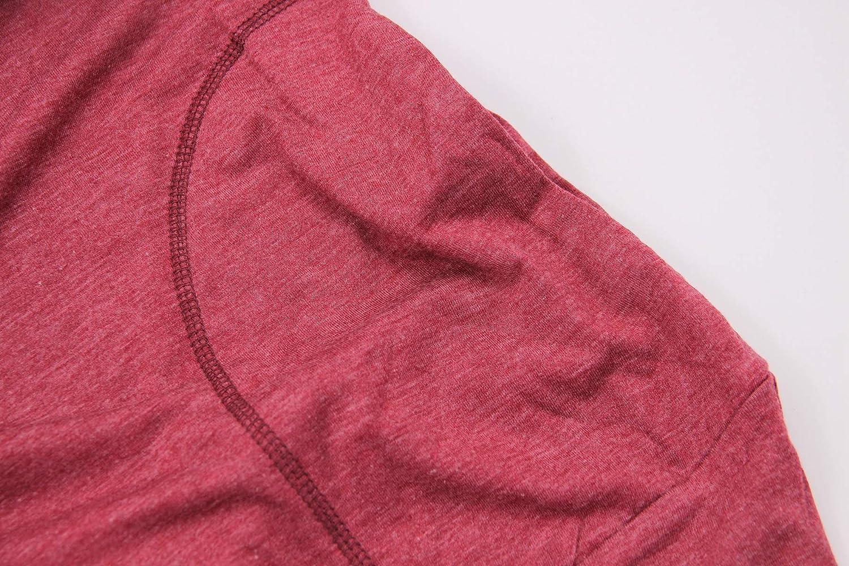 INIBUD Women Sweatshirts Casual T Shirt Tunic Tops with Pockets
